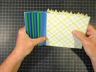 Simple Strip Binding (2) - How to attach pages