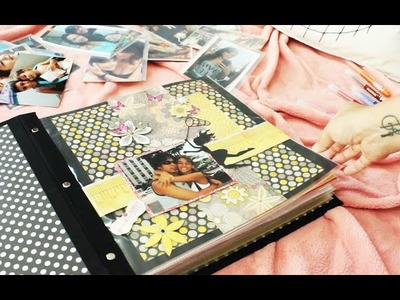{Tutorial} Álbum Scrapbooking - Modelo com pino