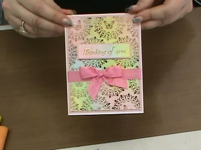 You Tube #157  Learn all about  Faber-Castel Glelatos & Stencils by Scrapbooking Made Simple