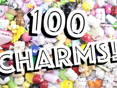100 CHARMS! - Awesome Polymer Clay Inspiration! -