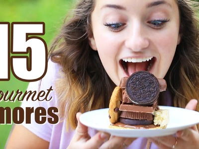 15 Gourmet Smores Recipes   Brooklyn and Bailey