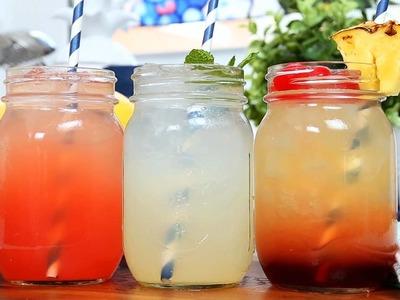 3 Homemade Lemonade Recipes