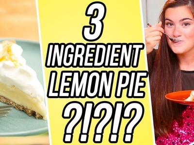 3 Ingredient Lemon Pie! | 3 Items Or Less w. CloeCouture
