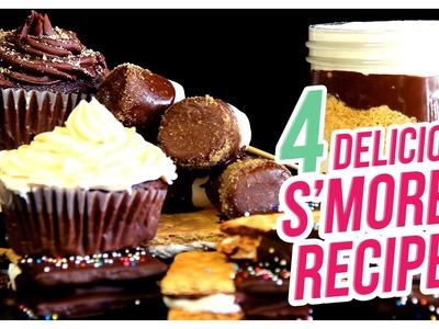 4 Delicious S'mores Recipes! - Do It, Gurl