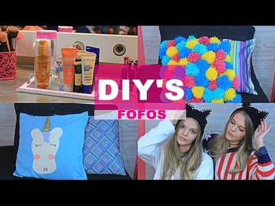 4 Diy's Fofos -The Twins