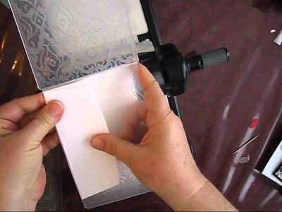 Big Shot 101:  Embossed Envelope