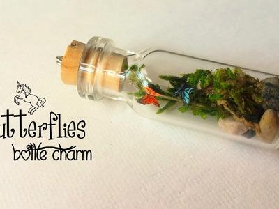 ○ Butterflies in a Bottle Charm ○