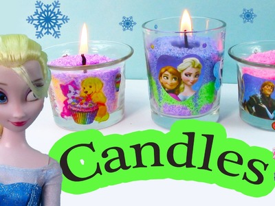 Candle Craze Maker Playset Disney Frozen Sisters Queen Elsa Princess Anna Holiday Lisa Frank Gift