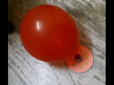 CD Moving Craft With Balloon | Hover Craft