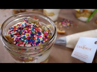 Confetti Cake in a Jar? Duff Goldman Shows Us How! | Just Add Sugar