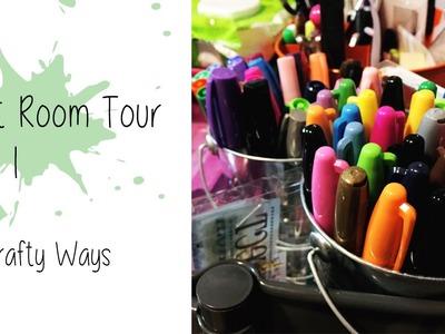 Craft Room Tour. Part 1