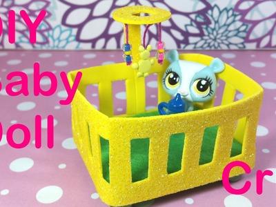 DIY Baby Doll Crib