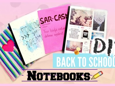 DIY Back To School Notebooks! | Ms. Craft Nerd