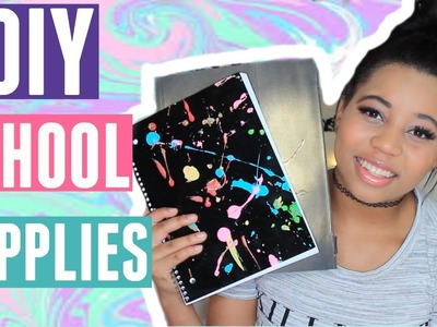 DIY Back to School Supplies 2016! + Giveaway!