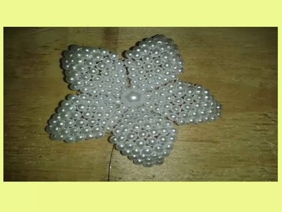 DIY Bead Craft Ideas- Bead Brush-jewelry making tutorials out of Beads-Easy Flower