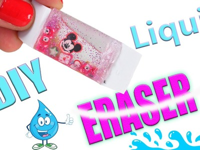 DIY Craft: DIY LIQUID ERASER | Tic Tac ERASER