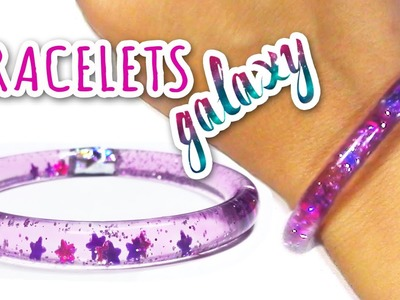 "DIY crafts: WATER BRACELETS ""Galaxy"" - Innova Crafts"