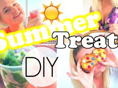 DIY Easy & Fresh Summer Treats.Snacks!