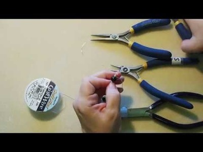 DIY Episode 12: Use Soft Flex Craft Wire To Create Links That Connect To Make A Beaded Jewelry Chain