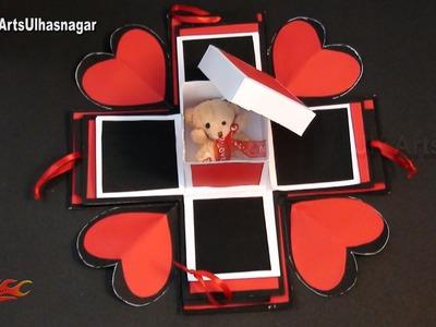 DIY Exploding Love Box Idea | JK Craft Ideas 089