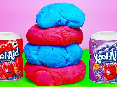 DIY: How to Make Fruity & Fun KOOL-AID SILLY PUTTY! *NO BORAX* Smells Great, Just 3 Ingredients!