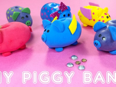 DIY Miniature Doll Piggy Banks