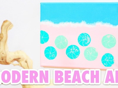 DIY Modern Beach Art: Craft Fail or Win?
