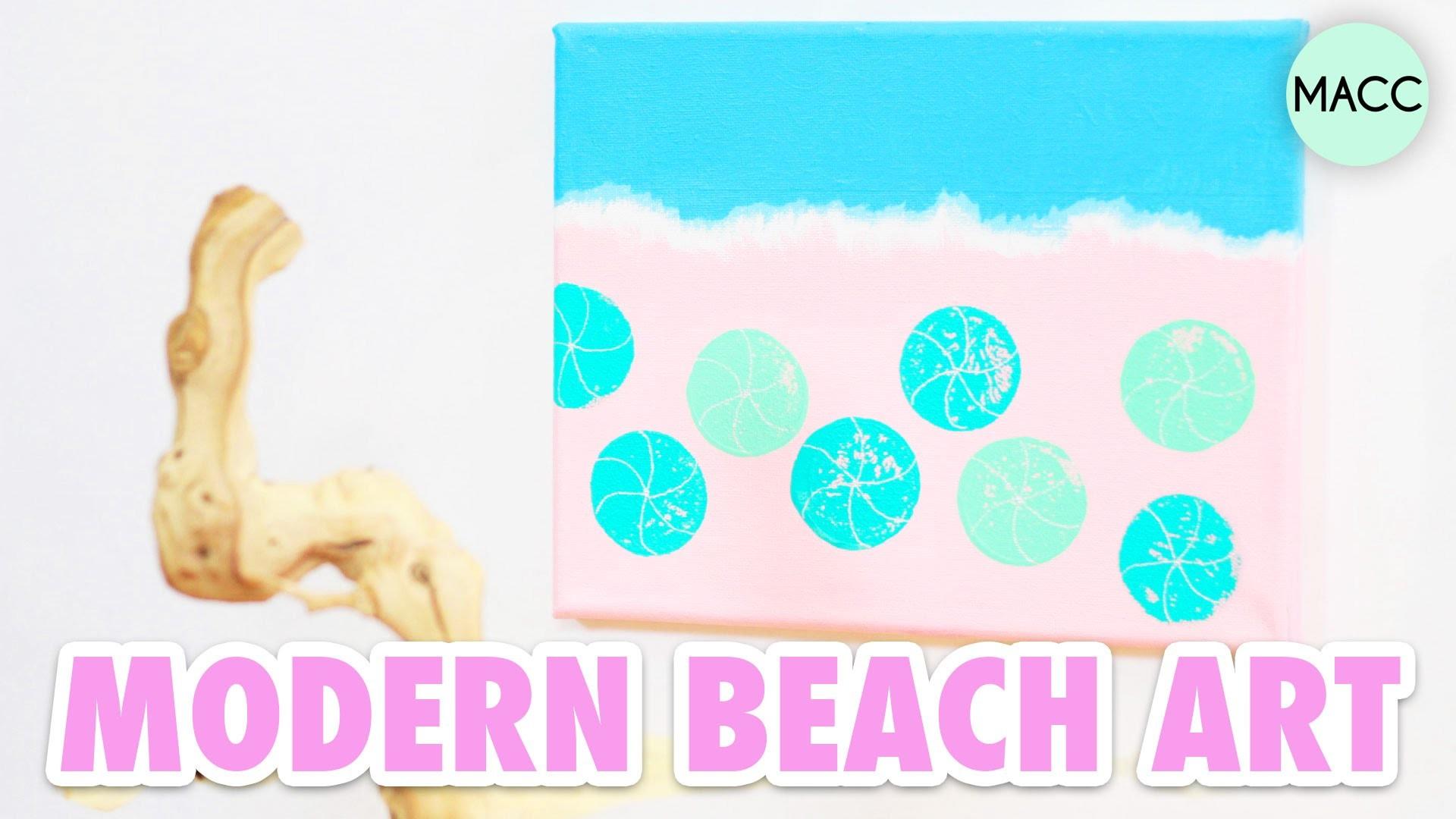 Diy Modern Beach Art Craft Fail Or Win