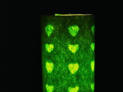 DIY: Night lamp from plastic bottle