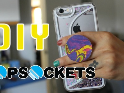 DIY PopSockets for Musical.ly