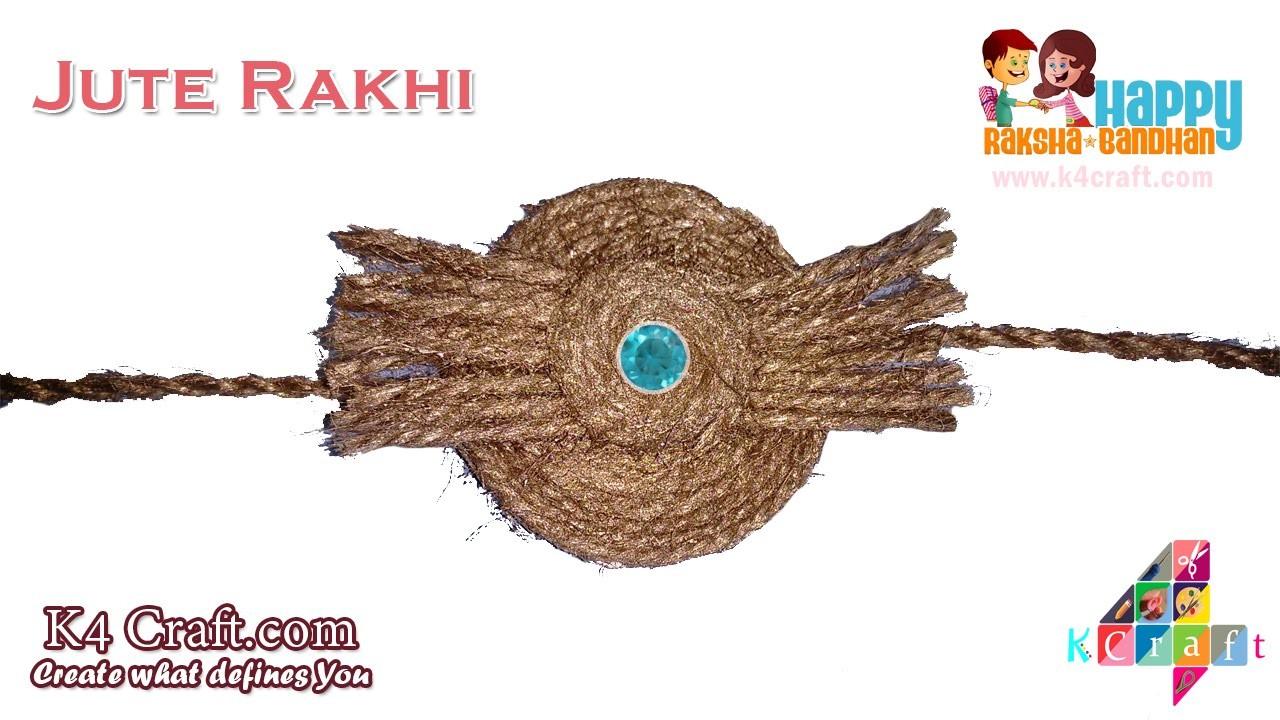 DIY: Rakhi Video Making at Home - Jute Rakhi tutorial - Raksha Bandhan