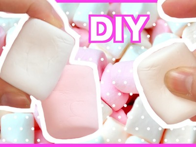 DIY Realistic Marshmallow Clay Tutorial