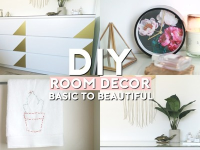 DIY Room Decorations! Basic To Beautiful | THE SORRY GIRLS
