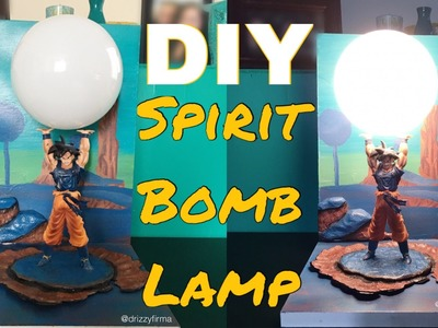 DIY Spirit Bomb Lamp (Dragon Ball Z) | SupersaiyaBuilds #2
