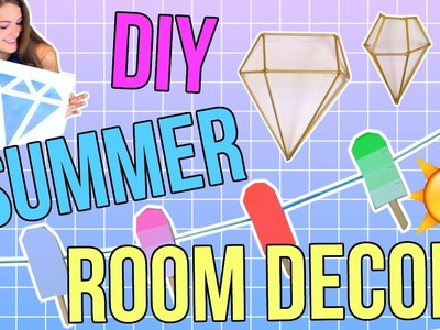 DIY Summer Room Decor! Easy & Cheap Decor!