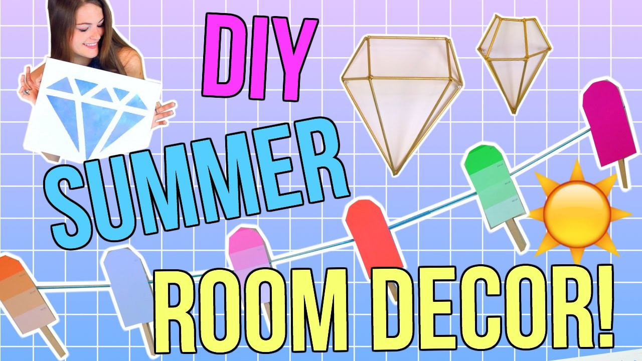 DIY Summer Room Decor! Easy & Cheap Decor!