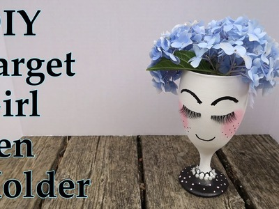 DIY Target girl cup. Pen holder| I'm A Cool Mom
