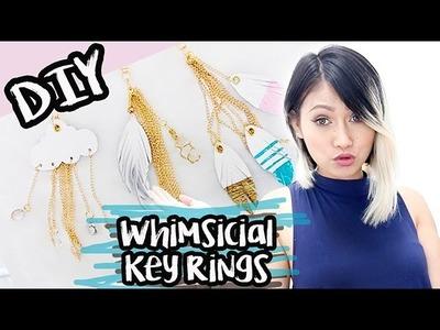 DIY:Whimsical Key Ring. Bag Charms