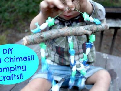 DIY WindChimes!! Camping:Summer Craft!!