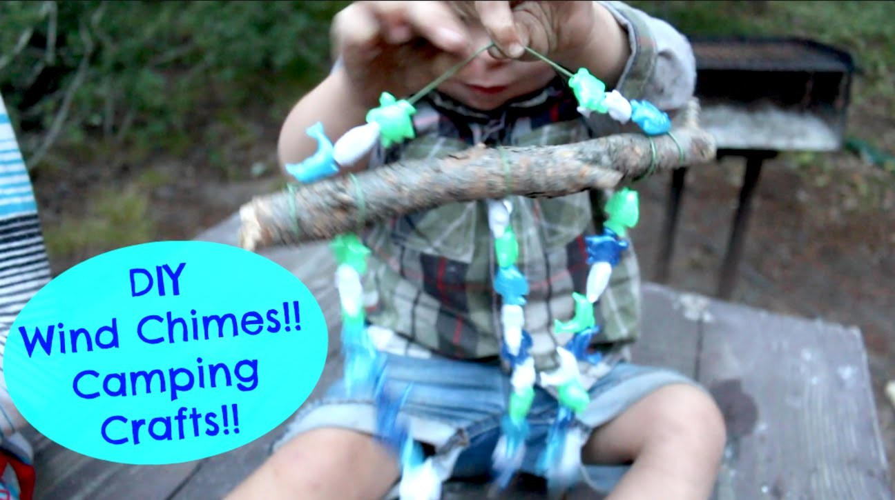 DIY WindChimes!! Camping:Summer Craft!!