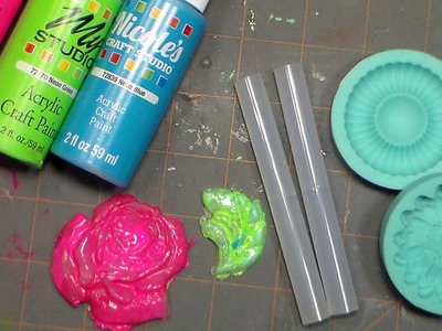 Easy Hot Glue Embellishments!