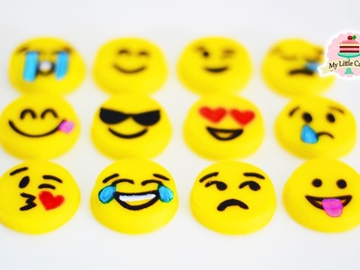 EMOJI GUMMYS | EASY TO MAKE | MY LITTLE CAKES