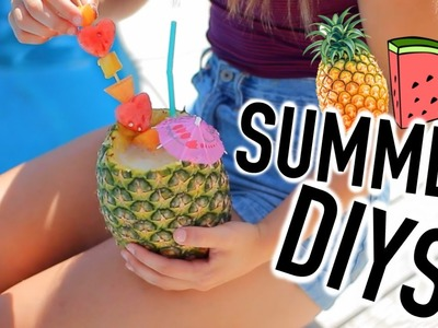 Fun & Easy Summer DIY'S You NEED to try! | Breezylynn08