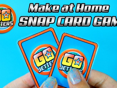 Go Jetters DIY Snap Cards Kids Craft Project!