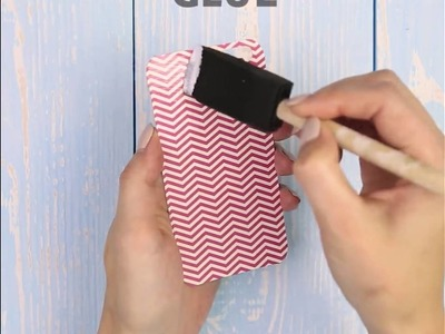 Great ideas to decorate a phone case.5-Minute Craft.