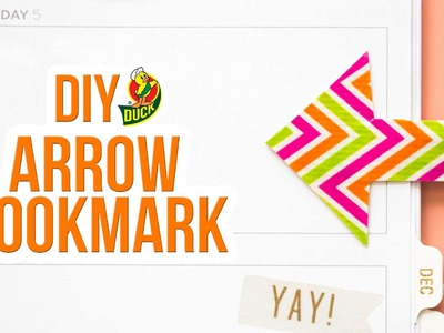 How to Craft a Duck Tape® Arrow Bookmark