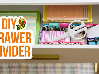 How to Craft a Duck Tape® Drawer Divider