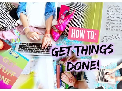 How To: Get Things Done! | Ms. Craft Nerd