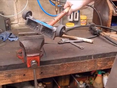 How to make a quick and dirty magnetic broom for the workshop