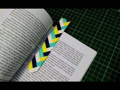 How to make a simple and easy paper bookmark | DIY Paper Craft Ideas, Videos & Tutorials.